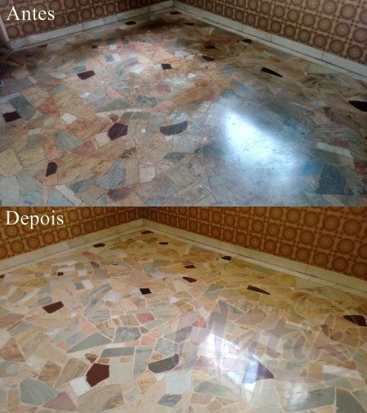 Empresa especializada em limpeza de mármore