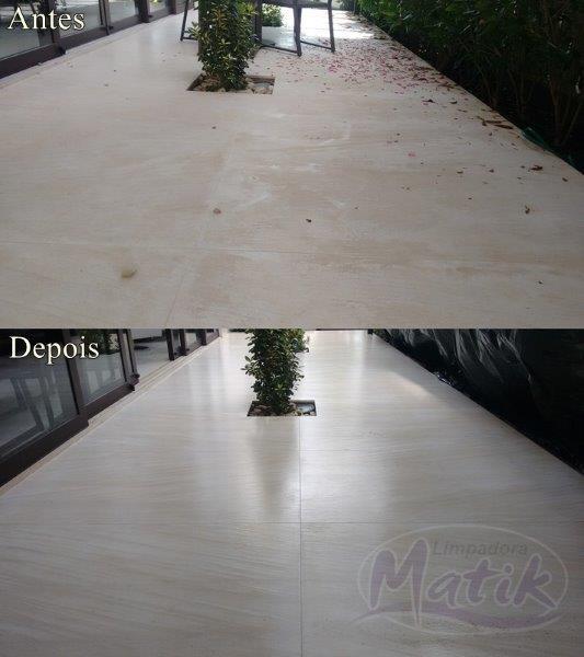 Empresa de limpeza de mármore