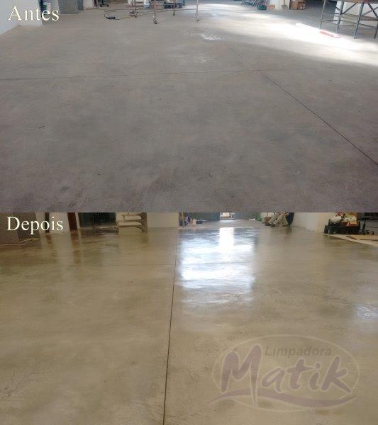 Impermeabilização de piso cimento queimado