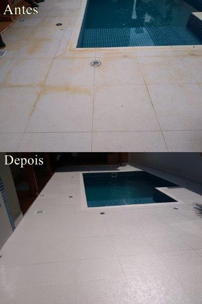 Limpeza e impermeabilização de pisos