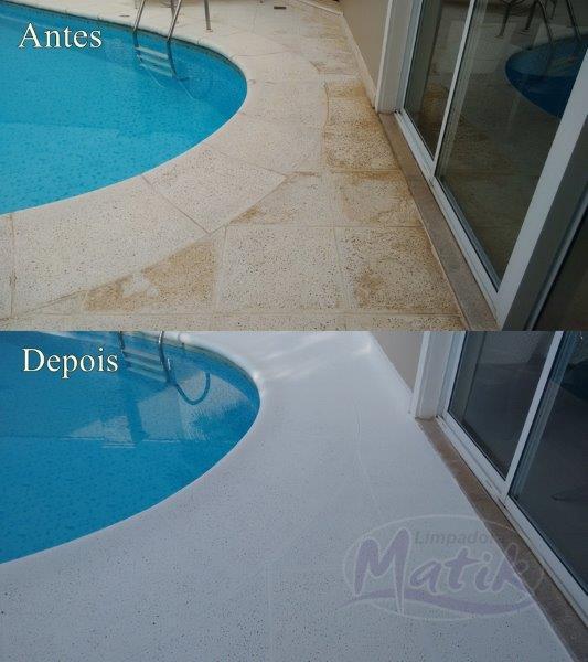 Limpeza de piso atérmico