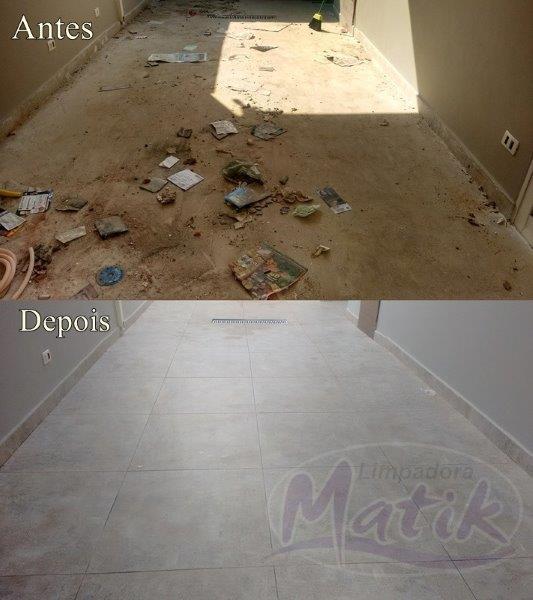 Serviço de limpeza pós obra