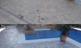 Impermeabilização de pedra natural