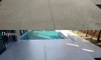 Impermeabilização de piso externo